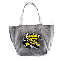 Wichita State Shockers NCAA Vintage Denim Tote