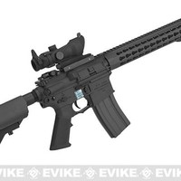 Knights Armament Airsoft SR-16E3 MOD 2 Airsoft AEG Rifle with Polymer Receiver by Echo1 (Color: Black)