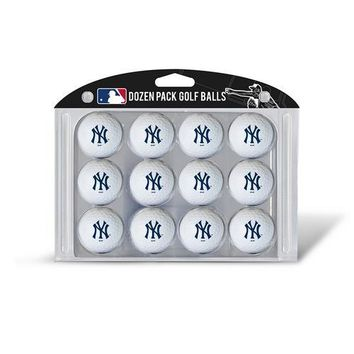 New York Yankees MLB Dozen Ball Pack