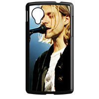 Kurt Cobain Singing Nexus 5 Case