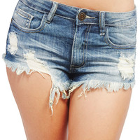 Super Destroyed Cut-Off Shorts | Wet Seal