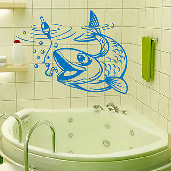 Shop fish bathroom decor on wanelo for Bathroom fish decor