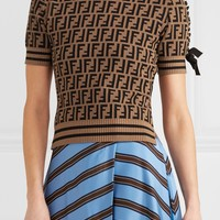 Fendi Women's Intarsia Knitted Sweater