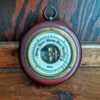Vintage, Barometer by Compass, made in west Germany, 1930-1950s, antique, weather, gifts, home, office
