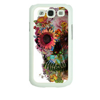Iphone 5s case,Flowers skull,Samsung Galaxy S4 case , Samsung S3 mini case , samsung s3 case, Note 2, iPhone 4 case , iphone 4S , iPhone 5