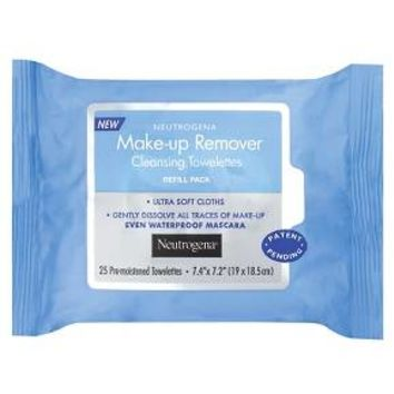Neutrogena® Makeup Remover Cleansing Towelettes Refill Pack -25 Ct : Target