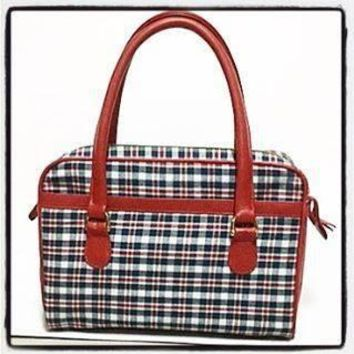 Bernie Dexter Plaid Handbag