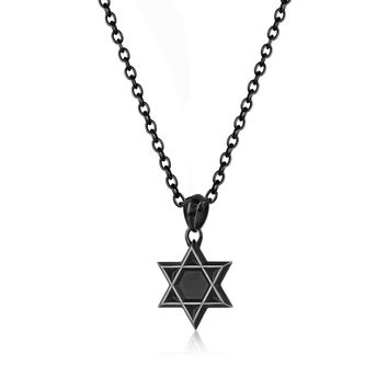 Star David Necklace-Men