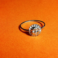 Smiling Sun Ring 6 by Mineology on Etsy