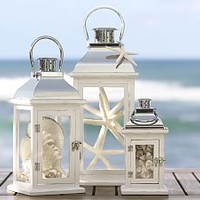 White Lanterns, Mini Lanterns & Votive Lanterns | Pottery Barn
