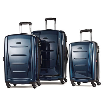 Samsonite Luggage Winfield 2 Fashion HS 3 Piece Set Deep Blue One Size '