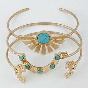 Aztec Dreams Bangle Set