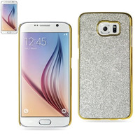 Reiko GLITTER SHELL CASE FOR SAMSUNG GALAXY S6 SILVER