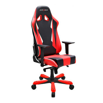 DXRacer SK28NR Comfortable Ergonomic Computer Chair Playseat chair-Black and Red