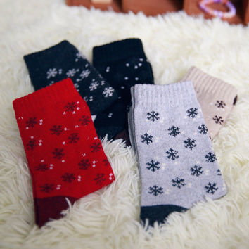 Christmas Socks Gift 10 piec= 5 pairs Classic snow rabbit