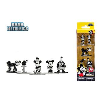 Jada Metals Disney Mickey Mouse Steamboat Willie 90th Anniversary Nano 5 pack