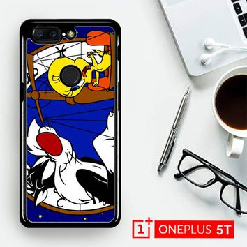 Tweety Bird And Sylvester Z0761  OnePLus 5T / One Plus 5T Case