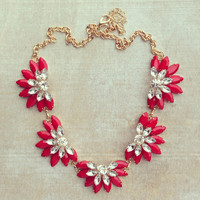 Pree Brulee - Cranberry Necklace