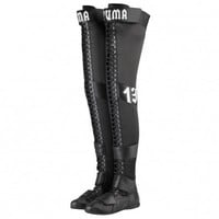 Fenty Puma by Rihanna Eskiva Over-the-Knee Boxing Boot, Black