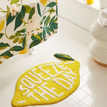 Squeeze The Day Bath Mat | Urban Outfitters