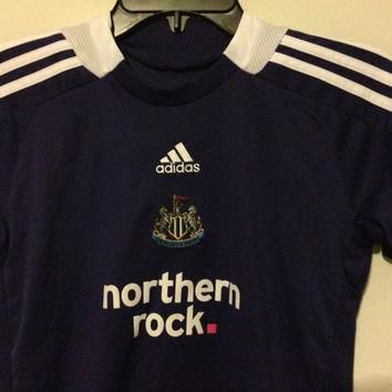 Sale!! EUC Vintage Adidas Newcastle United Away 2008/2009 Soccer Jersey Football Shirt