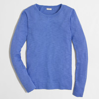 Factory teddie sweater : crewnecks & boatnecks | J.Crew Factory