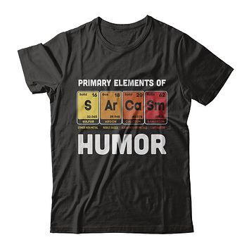 Science Sarcasm Primary Elements Of Humor Chemistry