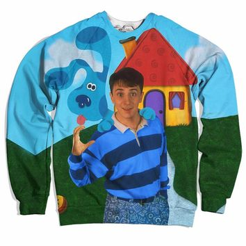 Crippin Clues Sweater