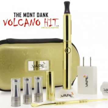 Mont Dank Volcano Hit v2 - 24k Elite Edition - The Vape Co.