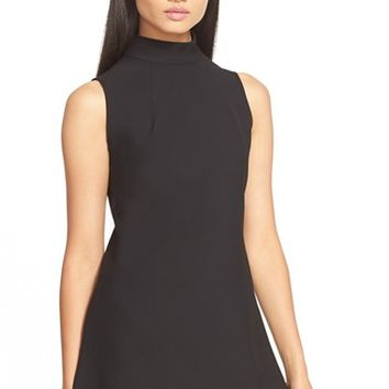 Women's Trina Turk 'Jaya' Mock Neck Sleeveless Top,