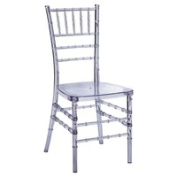 Chiavari Dining Chair, Clear