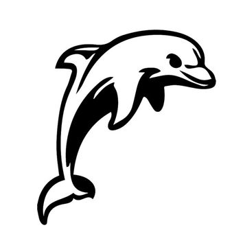 dolphin Vinyl STICKER/DECAL For Cars.Trucks,Computers,Notebooks etc. Any Corlor