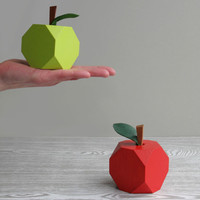 'Lo-res' Apple Ornaments