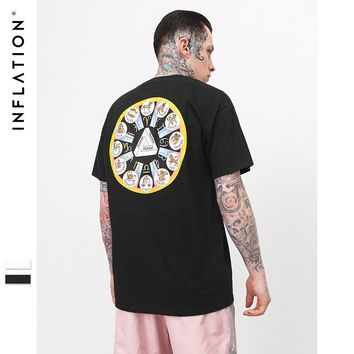 Short Sleeve Men's Fashion Print T-shirts [753821679709]