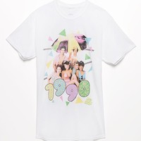 PacSun Saved By The Bell T-Shirt - Mens Tee - White