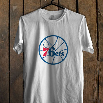 Philadelphia 76ers Blue Mens T Shirt **