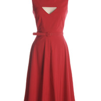 Megan Dress in Red Circle - $132.95 : Indie, Retro, Party, Vintage, Plus Size, Convertible, Cocktail Dresses in Canada