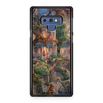 Lady And The Tramp Disney Samsung Galaxy Note 9 Case | Casefruits