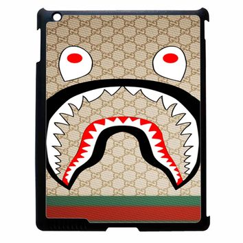Bape Shark Pattern 7 iPad 2/3/4