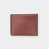 Solid Manufacturing Billfold Wallet - Maroon