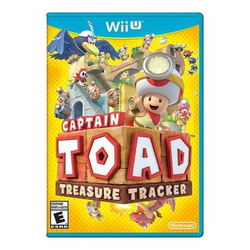 Nintendo Captain Toad: Treasure Tracker WiiU - Email Delivery