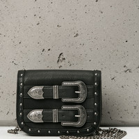 Country style bag with buckles - Accessories - Bershka United Kingdom