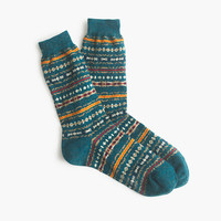 J.Crew Mens Anonymous Ism Fair Isle Socks