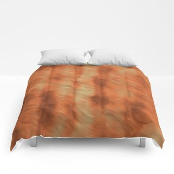 Rust Comforters by Lyle Hatch