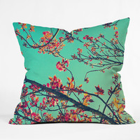Shannon Clark Summer Bloom Throw Pillow