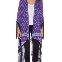 Spell & The Gypsy Collective x REVOLVE Exclusive Tassel Kimono in Purple