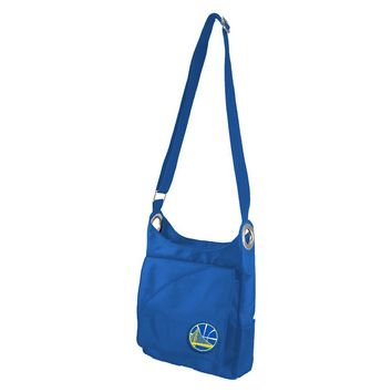 Golden State Warriors NBA Color Sheen Cross-body Bag (Royal)