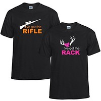Rifle and Rack Couples Unisex T-shirt