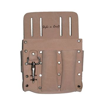 94126 - 5 Pocket Electrician's Tool Pouch in Heavy Top Grain Leather
