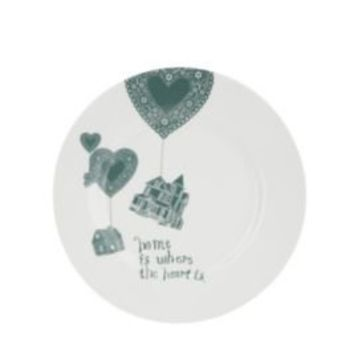 Home is Where the Heart Is Sweeties Plate